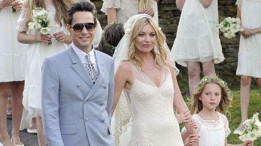 Kate Moss se casó con el rockero Jamie Hince