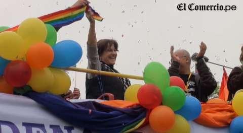 """Villarán tras inaugurar marcha gay: """"No aceptaremos discriminación"""""""