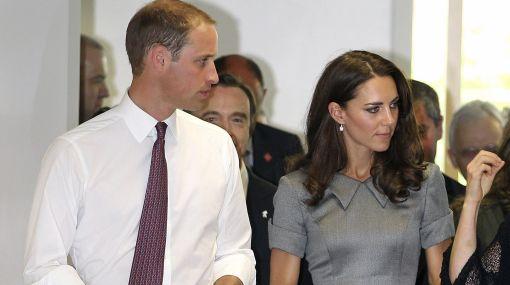 Príncipe Guillermo y Catalina fueron recibidos por manifestantes en Montreal