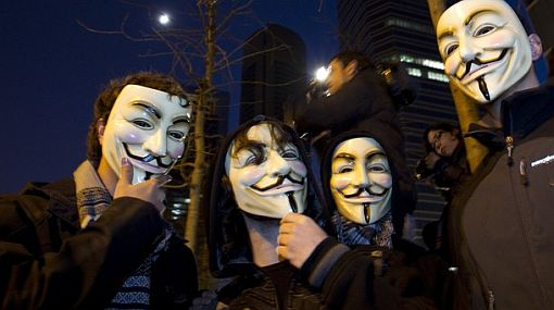 Anonymous atacó la página web del Ministerio de Energía y Minas