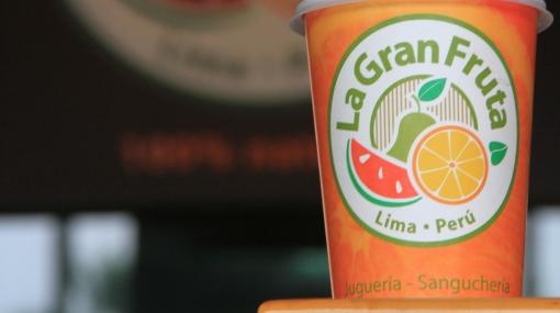 La Gran Fruta, jugos naturales y comida sana para todos