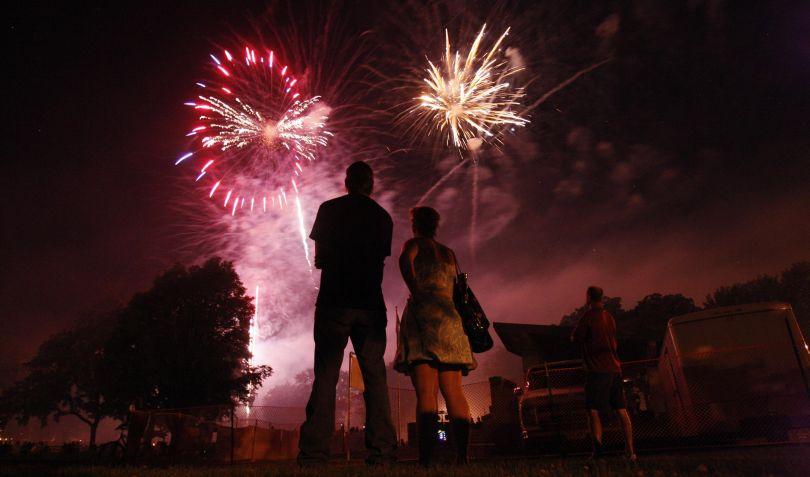 FOTOS: Estados Unidos celebró su día de la independencia con fuegos artificiales y concursos