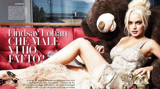 "Lindsay Lohan reapareció espectacular para ""Vanity Fair"""
