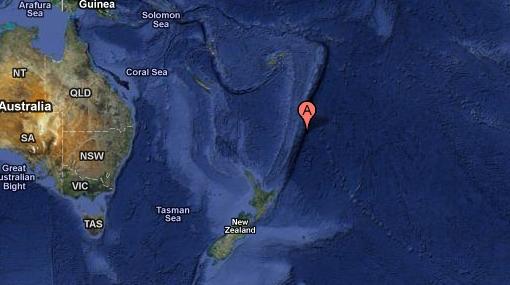 Terremoto de 7,8 grados golpeó Nueva Zelanda