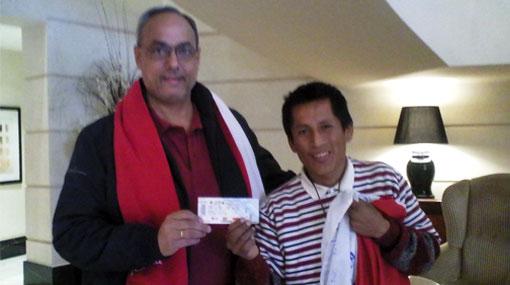 Hincha que viajó desde Pisco a Mendoza recibió entrada gratis