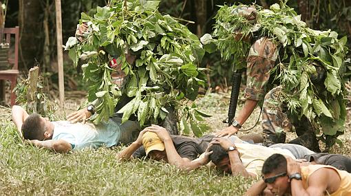 Operación antidrogas golpea narcotráfico del Bajo Amazonas