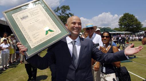 Lo merece: Andre Agassi ya está en el Salón de la Fama