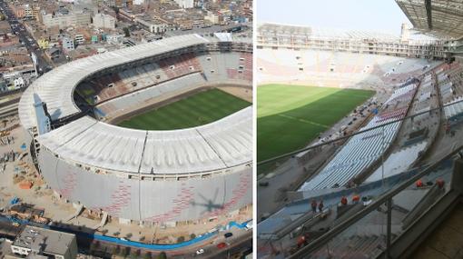 Estadio Nacional será reinaugurado solo con público invitado