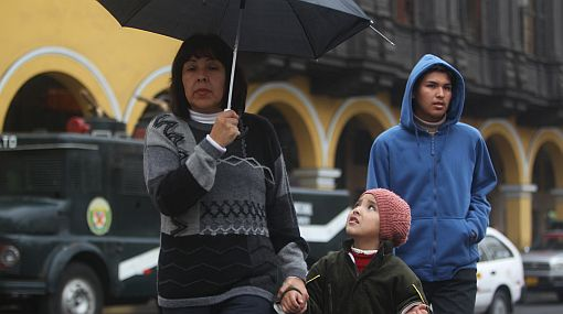 Lima registrará cielo nublado y lloviznas pero también tenue resolana