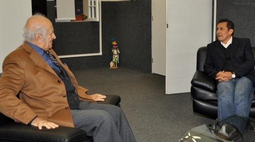 Humala y De Szyszlo se reunieron y hablaron del Lugar de la Memoria