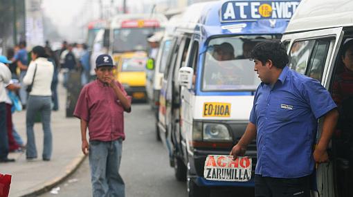 Transportistas anunciaron un paro preventivo para este 24 de julio