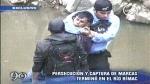 La Policía persiguió a un grupo de 'marcas' hasta el río Rímac - Noticias de carlos remy ramis