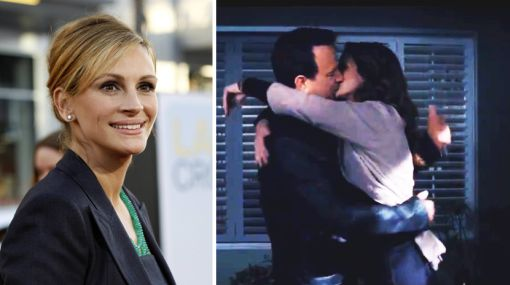 """Julia Roberts: """"Besar a Tom Hanks fue sencillamente dulce"""""""