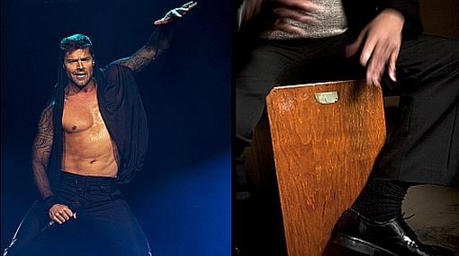 "Ricky Martin: ""Me gustaría ser un experto tocando el cajón peruano"""