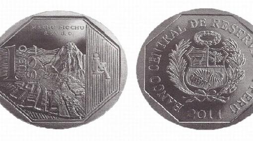 Esta es la nueva moneda de un sol con diseño alusivo a Machu Picchu