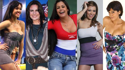 Las 10 extranjeras que 'la hicieron linda' en la farándula local