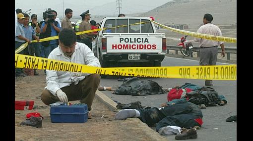 Delincuencia es el tema que más preocupa a los peruanos
