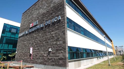 Minsa rechazó que nuevo hospital de Ica no tenga equipos médicos