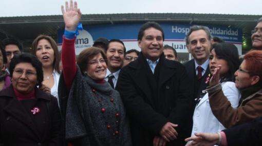 Susana Villarán inauguró Hospital de la Solidaridad en SJL