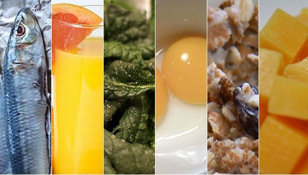 Once alimentos que te ayudan a fortalecer los huesos