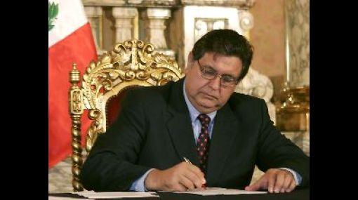 Alan García promulgó ley para el Aseguramiento Universal de Salud