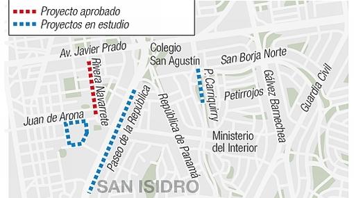 INFOGRAFÍA: así será el parqueo subterráneo de San Isidro que estará en 15 meses