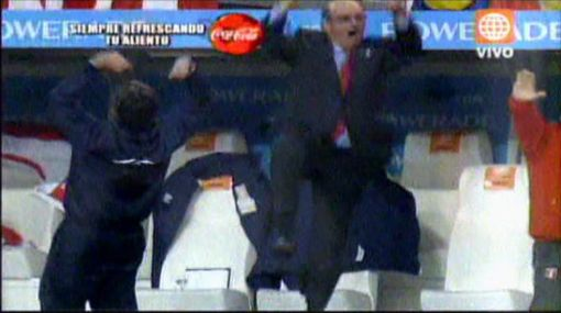 VIDEO: así gritó Markarián los goles en la victoria de Perú