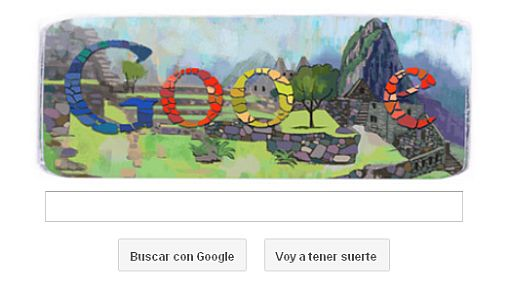 Google celebra el centenario del descubrimiento de Machu Picchu