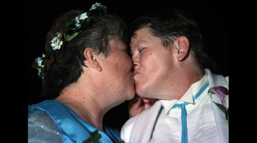 Dos mujeres protagonizaron la primera boda gay en Nueva York