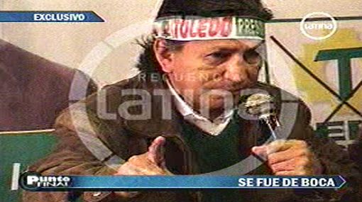 """Toledo sobre Gobierno de Humala: """"Sin nosotros no pueden hacer nada"""""""