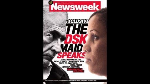 "Mucama que acusó a Strauss-Kahn: ""Por su culpa me llaman prostituta"""