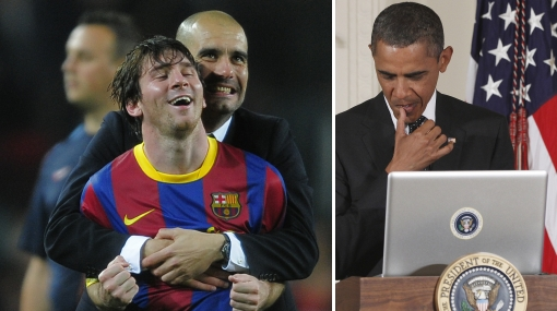 Messi desilusiona a Obama y no estará en gira de Barcelona por EE.UU.