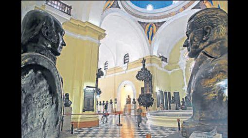 CRÓNICA: el Panteón de los Próceres, un santuario cívico
