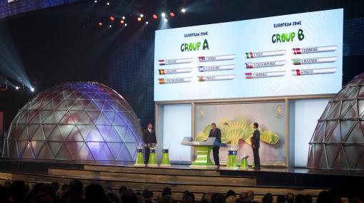 Mira el resultado del sorteo de las Eliminatorias Brasil 2014