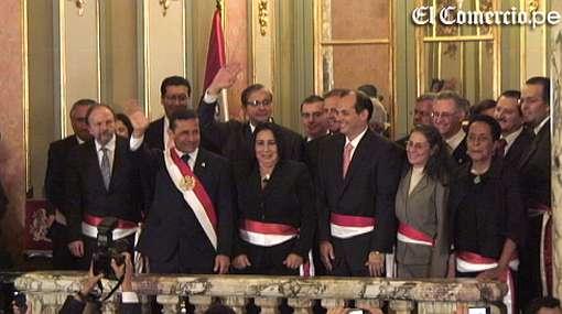 Los 18 ministros de Ollanta Humala hoy asumen funciones