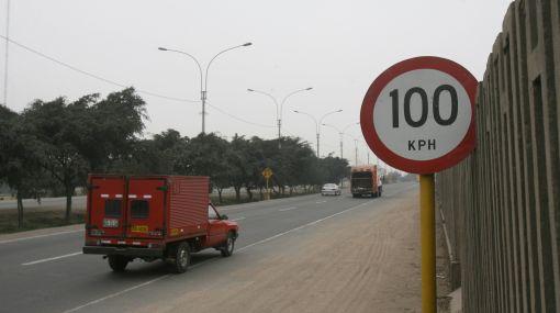 Exceso de velocidad se sanciona en Lima desde hoy