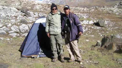 Montañista de 79 años desaparecido en Jauja fue hallado con vida