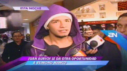 """Reimond Manco viajó a Chiclayo: """"Solo voy a entrenar con el Aurich"""""""