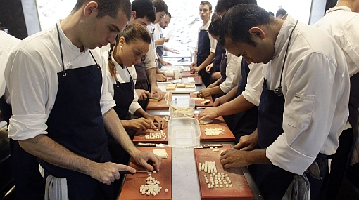El Bulli, el restaurante más famoso del mundo, ha vuelto a ser un laboratorio