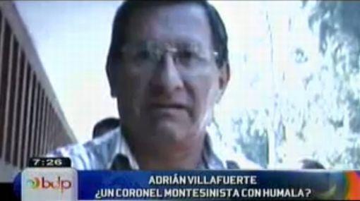 Ex secretario de general montesinista será asesor de Humala en Seguridad y Defensa