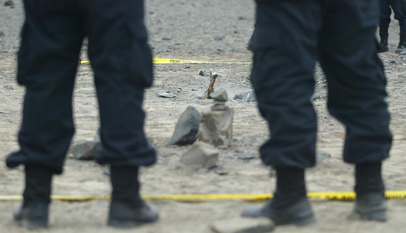 Fotos: Hallan siete cadáveres y sospechan que son víctimas del grupo Colina