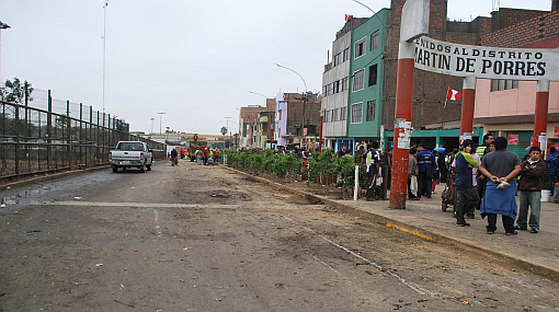 SMP: ambulantes que tomaron Av. Zarumilla fueron desalojados