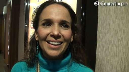 """Érika Villalobos está cargada de energía para competir en """"El gran show"""""""