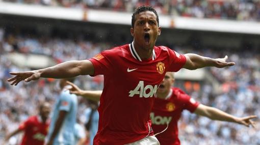 Nani le dio a Manchester United el título de la Community Shield