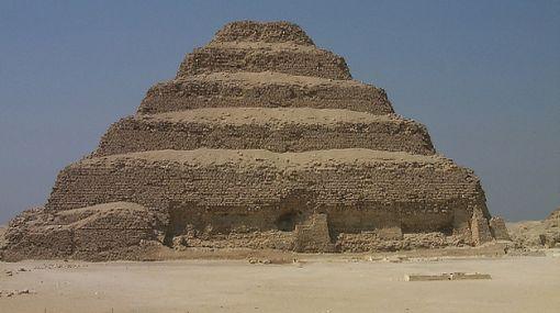 La pirámide más antigua de Egipto se salvó de derrumbarse