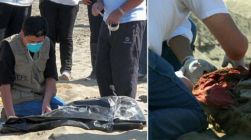 Inician identificación de 9 restos humanos hallados en Virú