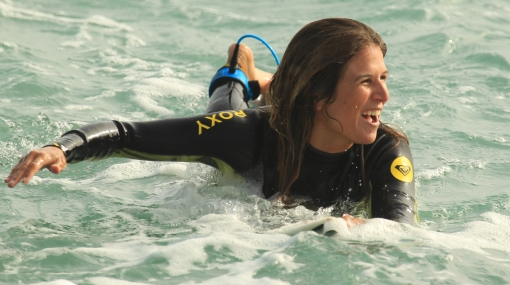 Sofía Mulanovich es la segunda surfista que más dinero ganó desde 2003
