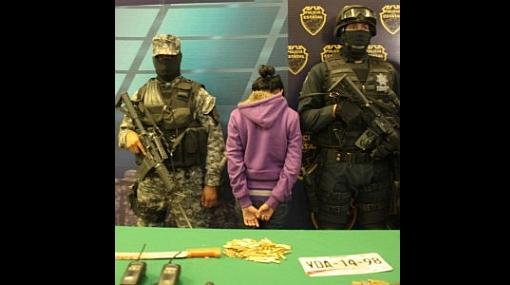 México: detienen a niña de 13 años perteneciente al clan de Los Zetas