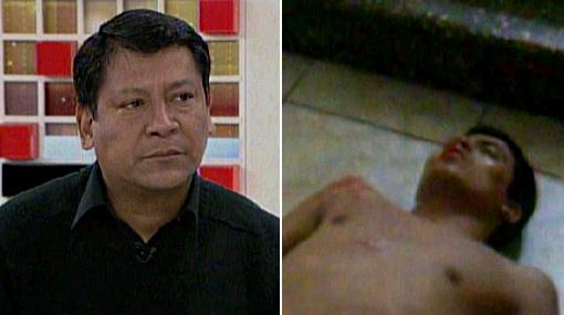 "Padre de Gerson Falla: ""Mi hijo murió tras ser molido a golpes, no por consumir droga"""
