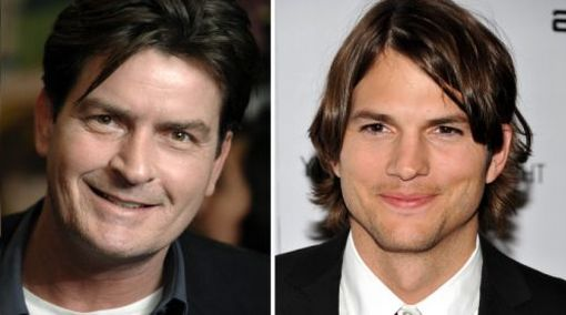 ¿Ashton Kutcher y Charlie Sheen se encontrarán hoy en los Emmy?